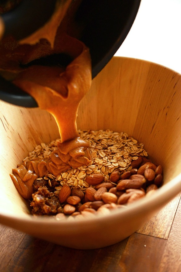 5-Ingredient-Granola-Bars