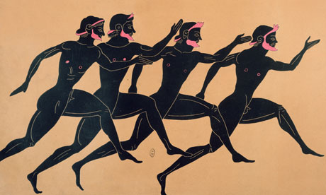 Ancient Greece, race illustration